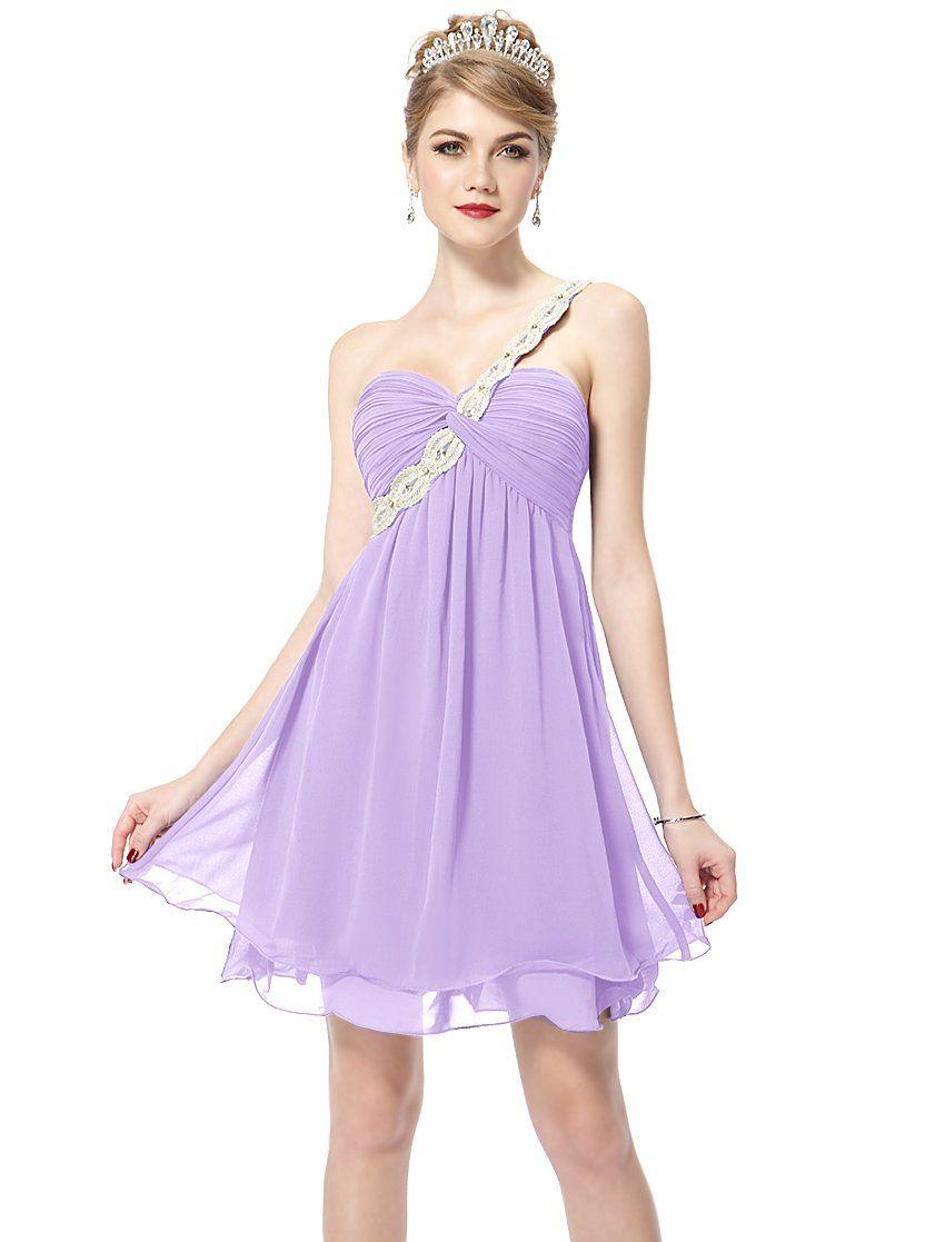Ever pretty juniors lavender wedding guest dress 6 us