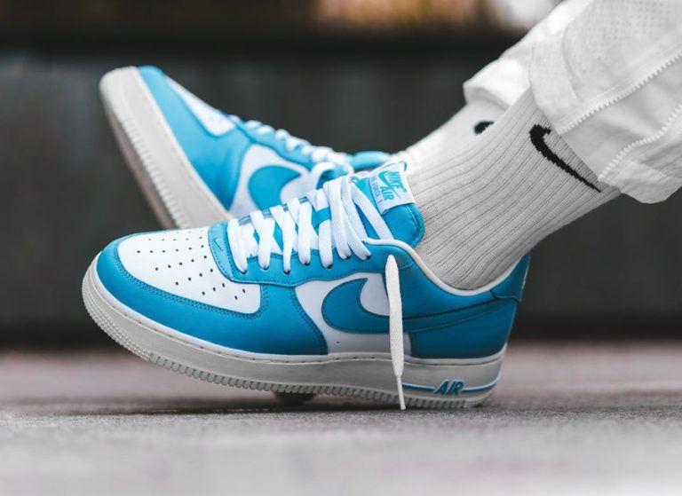 basket air force 1 bleu turquoise