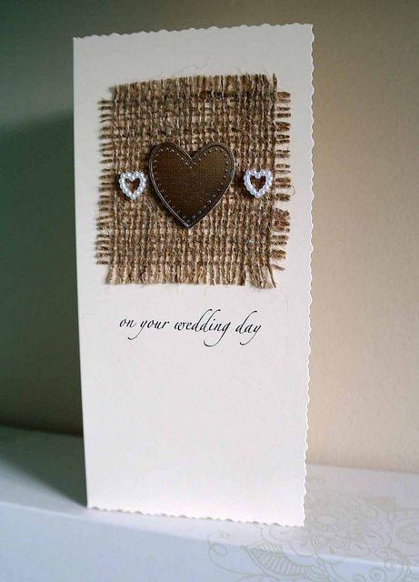personilised wedding card