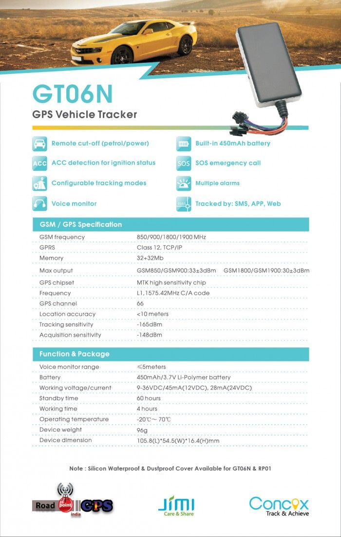 GT06N Best Selling GPS Tracker for Vehicle Location Tracking