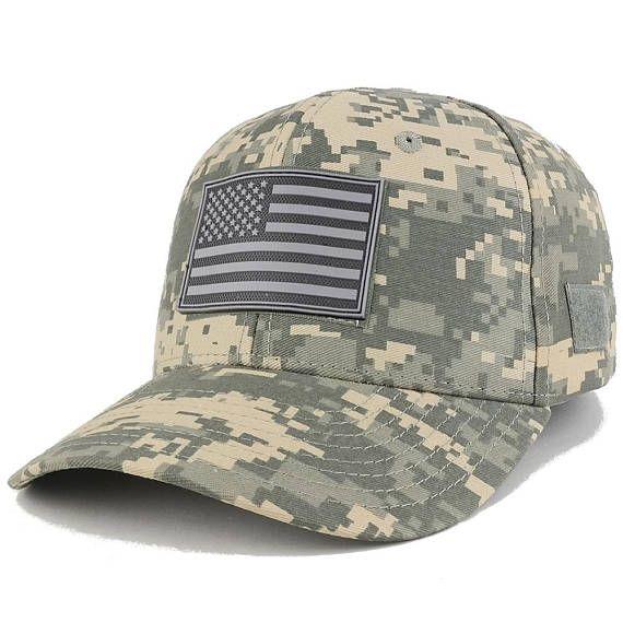 Black USA American Flag Thin Blue Line Tactical Operator Cotton Baseball Hat Cap