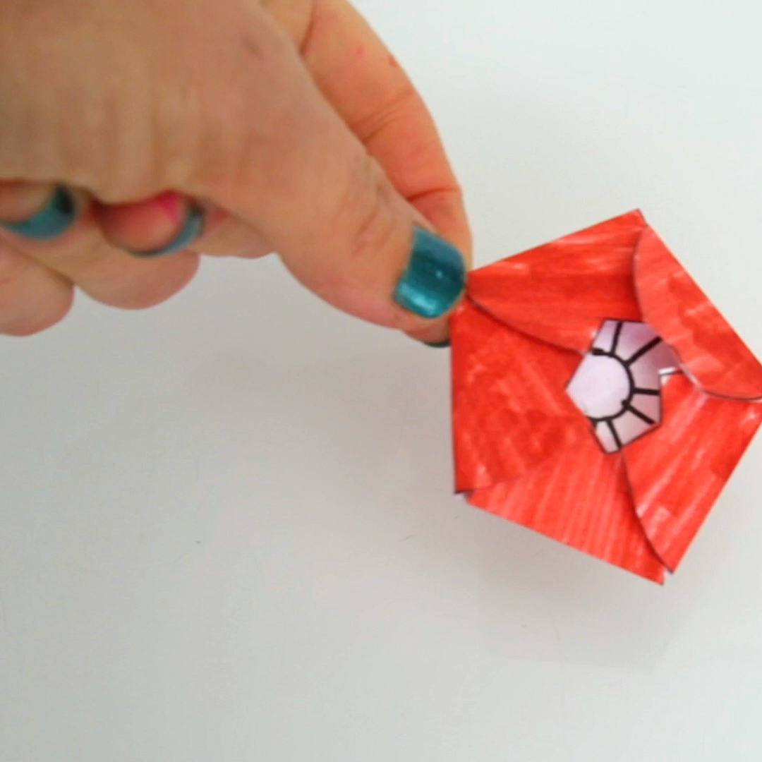 A Paper Flower For Kids To Make Magical Water Blossoms Babble Dabble Do Video Video Arts And Crafts For Kids Kids Art Projects Paper Flowers