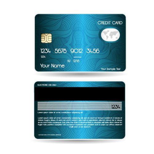 Bank Card Credit Card Layout Psd Template Credit Card Design