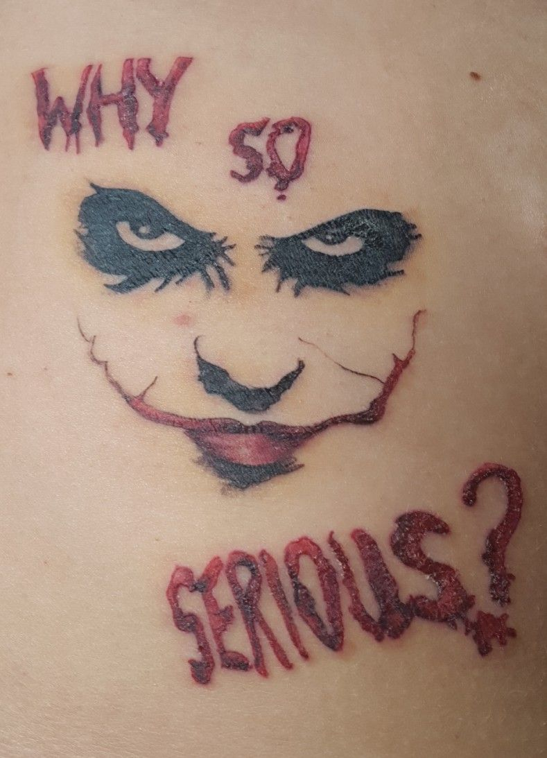 21++ Awesome Why so serious tattoo designs ideas in 2021