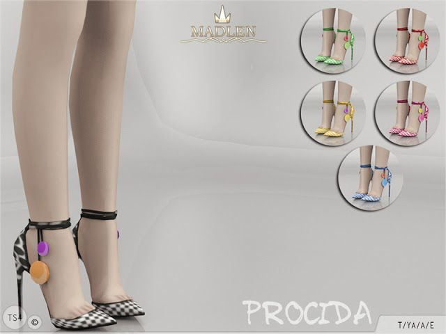 Sims 4 CC's - The Best: Madlen Procida Shoes
