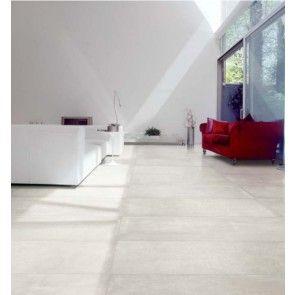 Carrelage De Sol 60x120cm Viva N 21 Cemento Lappato White P En Gres