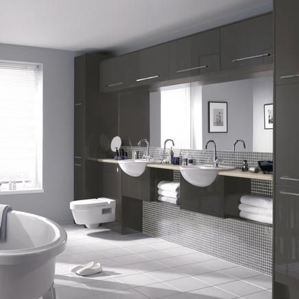 Bathroom Joinery greenwich gloss graphite | bathrooms | pinterest | graphite