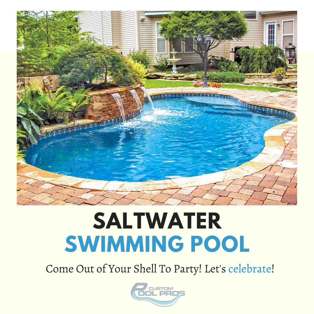 Saltwater Pool Salt Water Pool Maintenance Pool Saltwater Pool