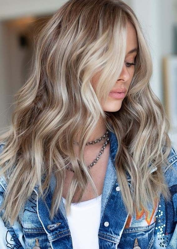 Photo of #Ash #Blonde #color #Fresh #hair #Shades