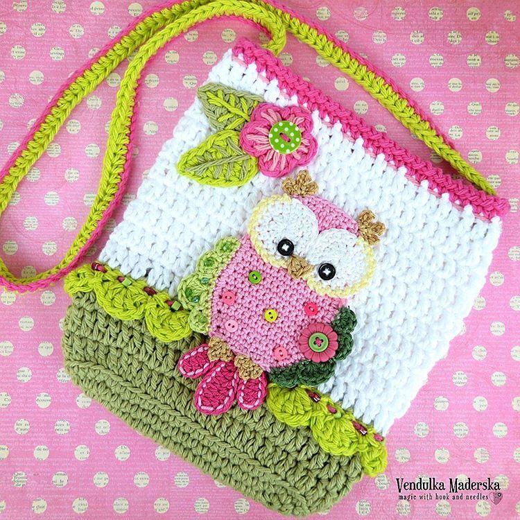 New Purse To The Collection Vendulkampattern Crochetowl Owl