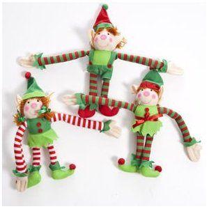 Amazon Com Plush Long Armed Elf Toys Amp Games Christmas