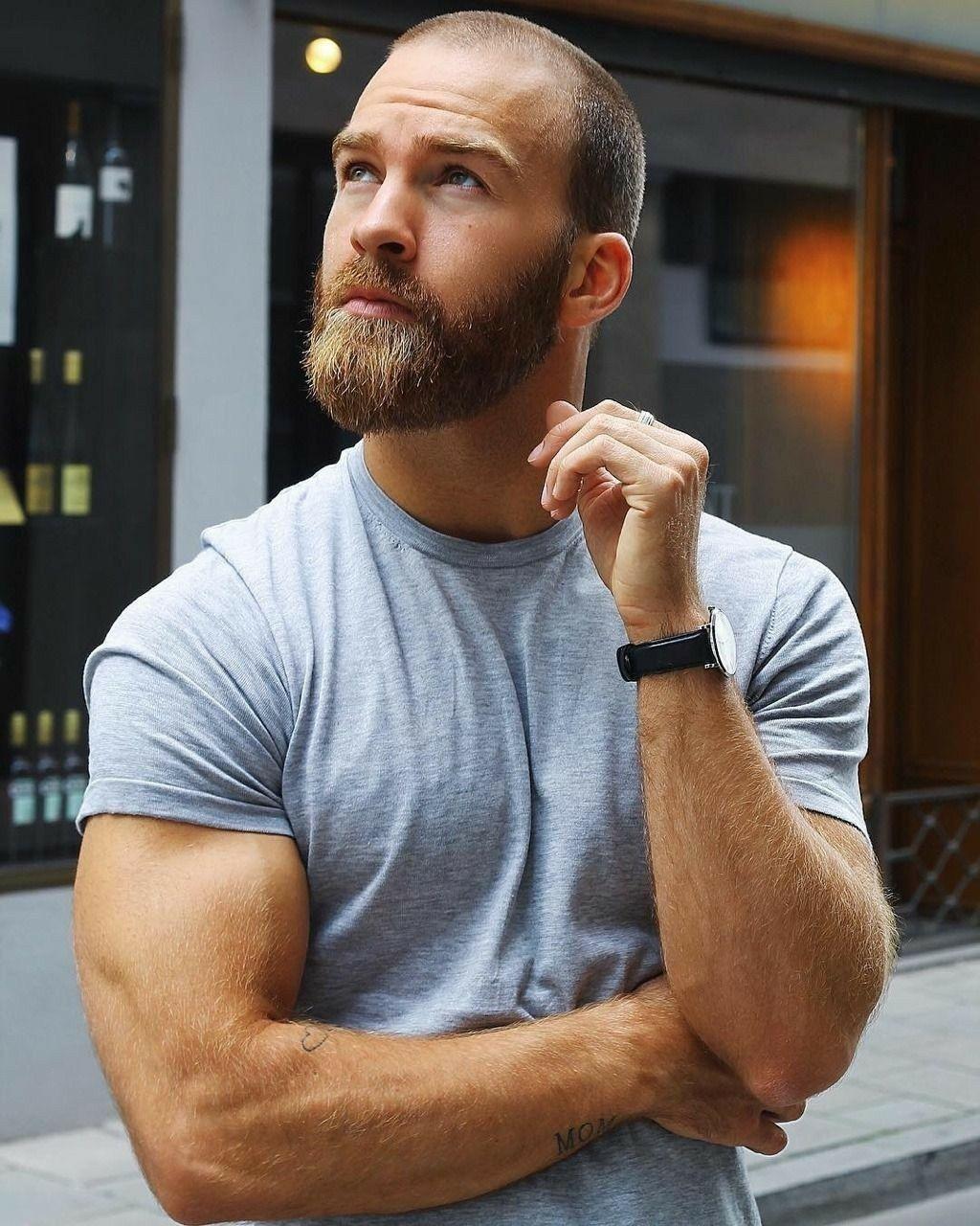 1000 Ideas About Bald Men Styles On Pinterest: #beard #beardrevered