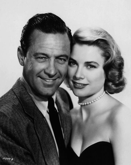 Grace Kelly and William Holden, 1954