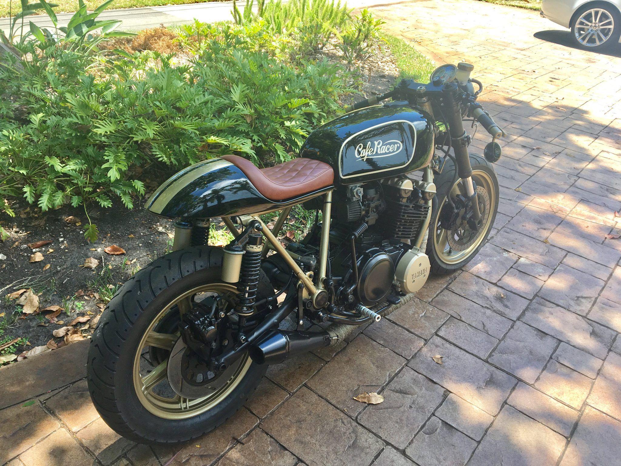 Cafe Racer Yamaha 850 Pro Built Custom Cafe Racer Motorcycles For Sale Custom Cafe Racer Cafe Racer Vintage Cafe Racer