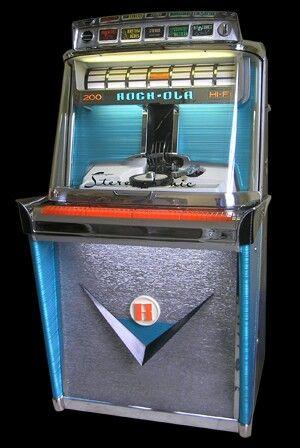 Rock-Ola Tempo Jukebox.