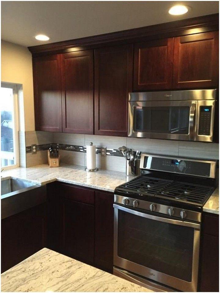 73 lovely kitchen backsplash with dark cabinets decor ...