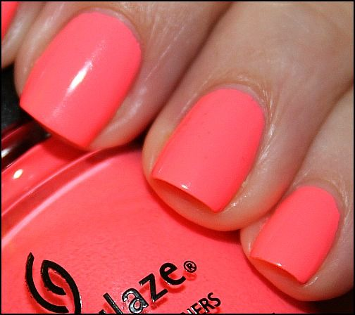 Pin by Katie Henske on Nails | Pinterest | China glaze, Neon nail ...