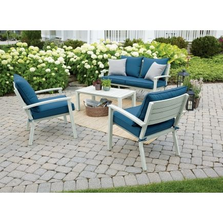 Good Madison 4 Pc. Deep Seating Set   All Patio Collections   Ace Hardware