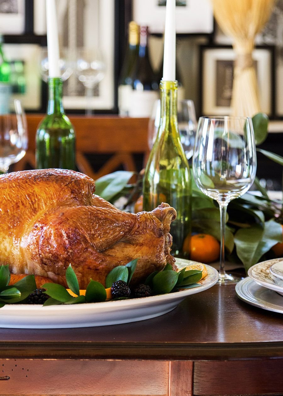 Turkey Brine by @stiersaesthetic | A combination of water, stock, salt, herbs and spices, brining will ensure that your turkey is moist and loaded with flavor.