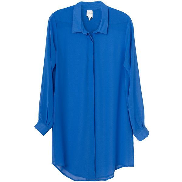 Trissa Blouse ❤ liked on Polyvore