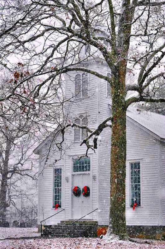 Old Fashioned Christmas C5548a By Paul Lyndon Phillips In 2020 Old Country Churches Church Pictures Country Church