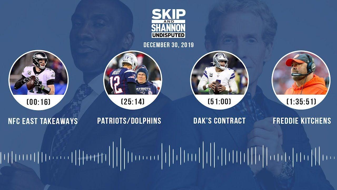 NFC East takeaways, Patriots/Dolphins, Dak's contract
