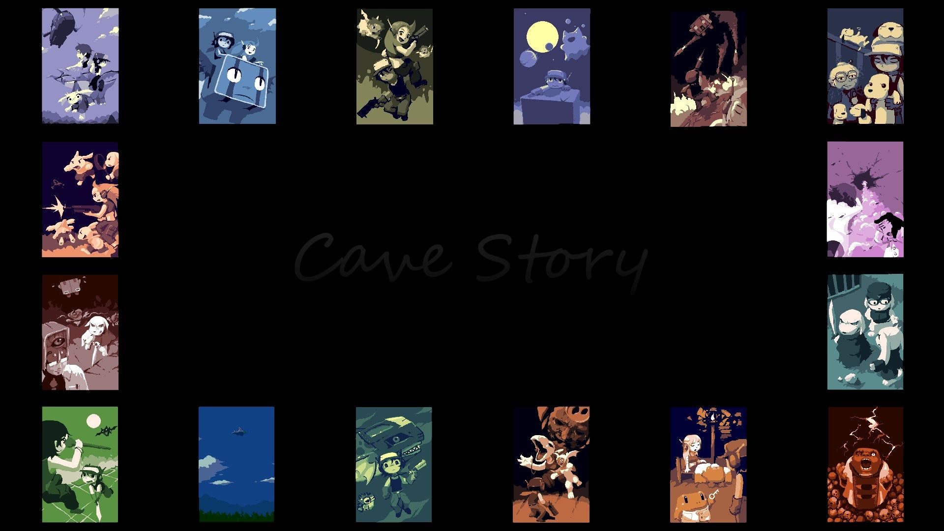 Hq Definition Wallpaper Desktop Cave Story Backround Duke Butler 2017 03 03 Cave Story Cave Desktop Wallpaper