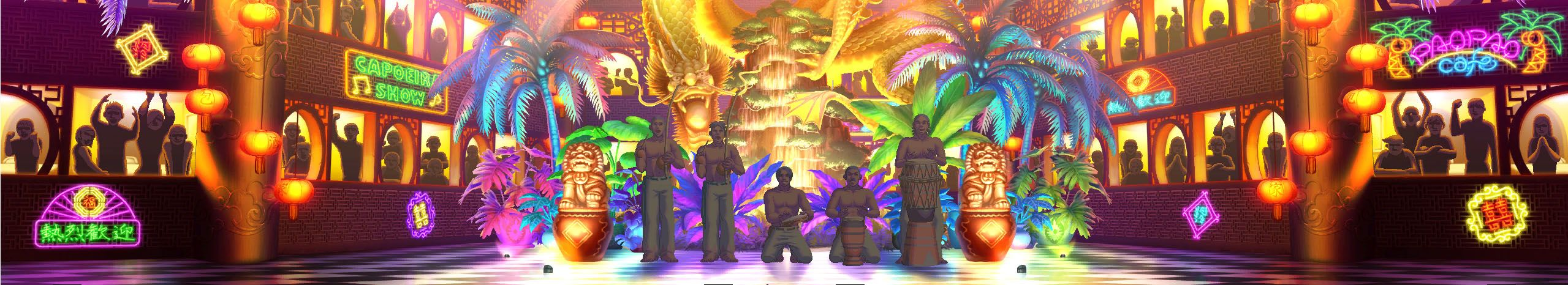 The King Of Fighters Xiii Stages