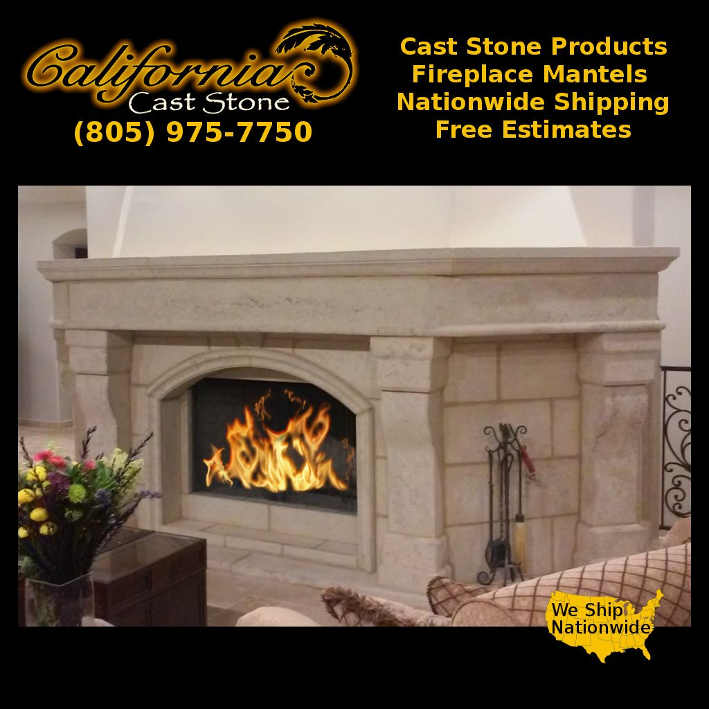 Made In California And Delivered Nationwide Our Caststone Fireplace Mantels Are Sure To Impress And Inspire Conv Fireplace Mantels Fireplace Stone Masonry