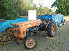 Tracteur Agricole Someca 250 Tracteur Tracteur Rouge Dessin Original