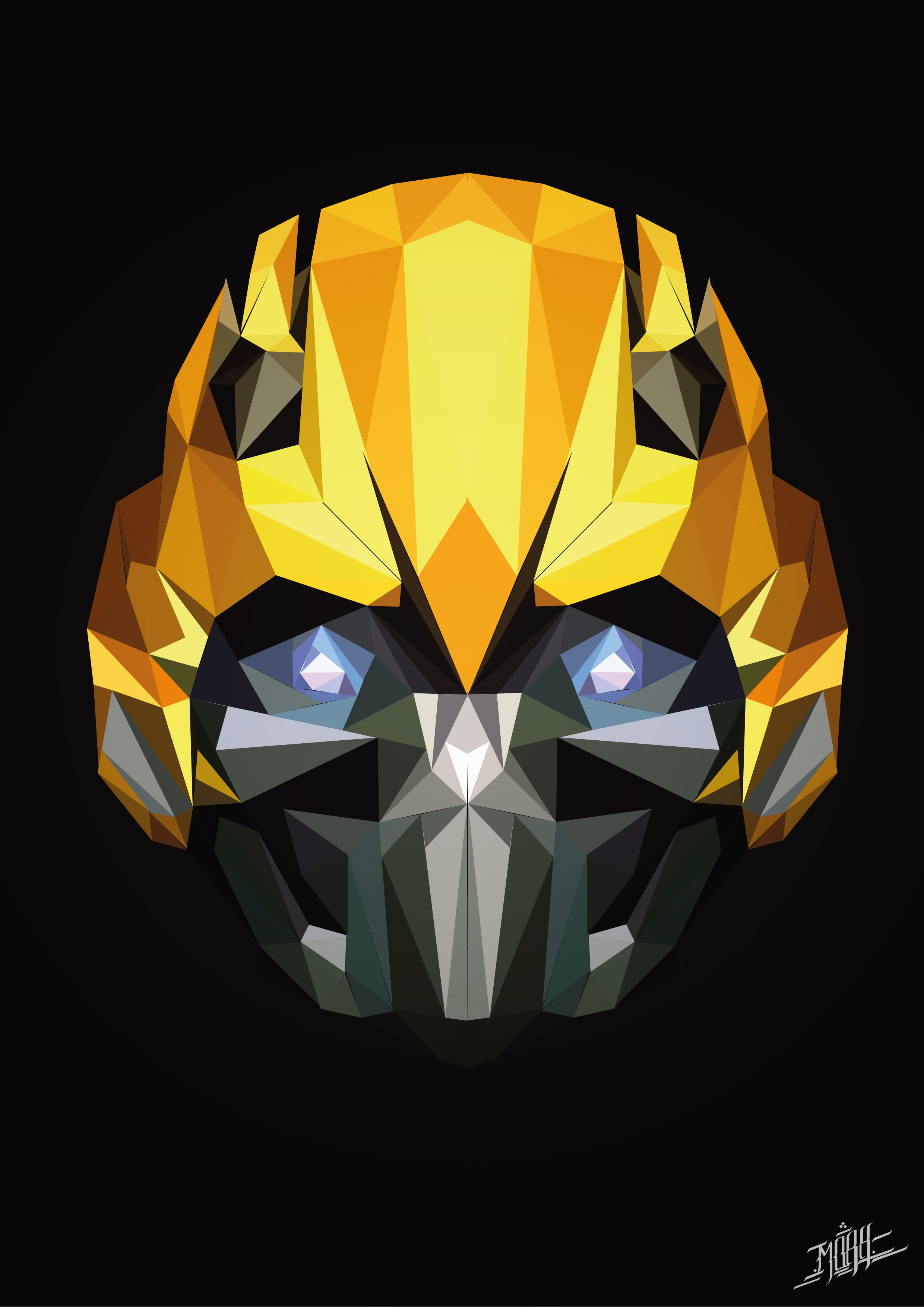 Bumblebee Day6 Bumblebee Transformers Lowpoly Art