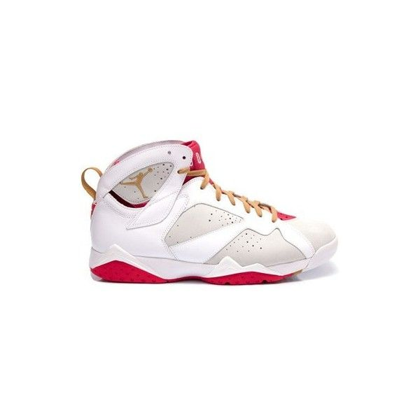 official photos f3ab4 c7bd8 Air Jordan VII (7) Retro Year Of The Rabbit ❤ liked on Polyvore featuring  shoes, sneakers, retro inspired shoes, retro shoes and retro style shoes
