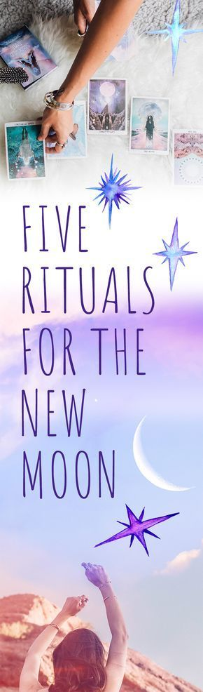 Click to discover 5 rituals for the new moon that you can return to month after month including a candle magick ritual, a burning ritual, a tarot spread, altar suggestions, and more. #fullmoontarotspread Click to discover 5 rituals for the new moon that you can return to month after month including a candle magick ritual, a burning ritual, a tarot spread, altar suggestions, and more. #candlemagick