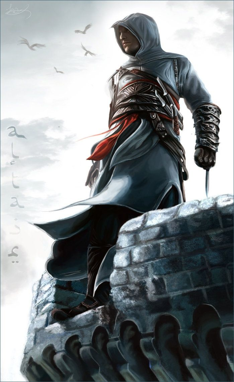 Assassin S Creed Altair Ibn La Ahad Personajes De Videojuegos