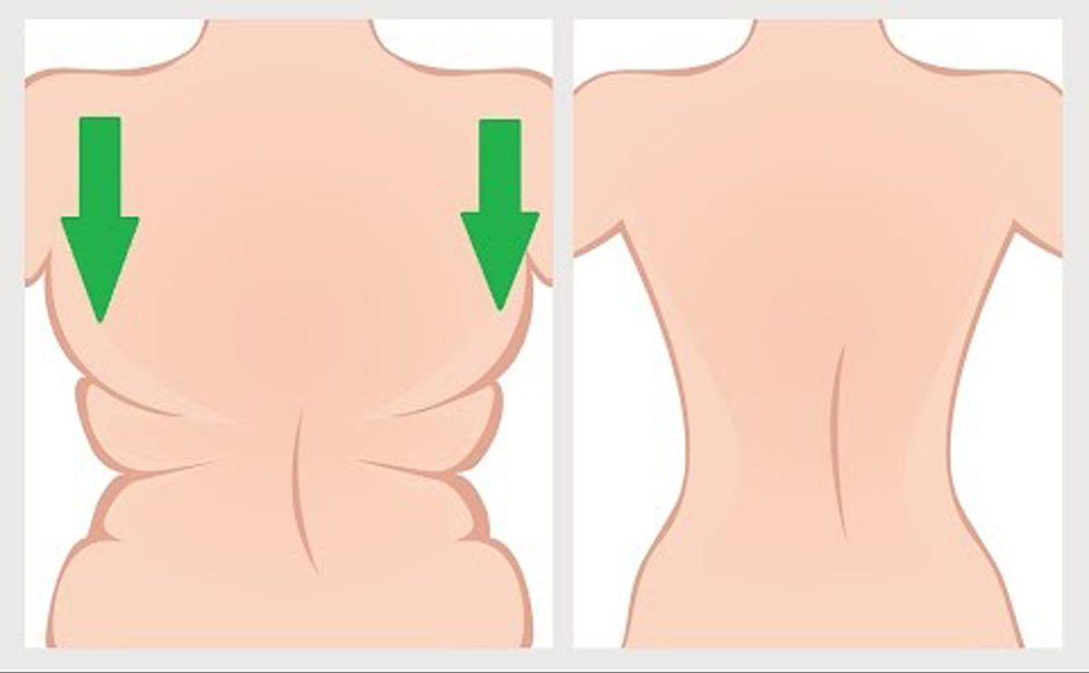 zsírégetést a hónalj alatt