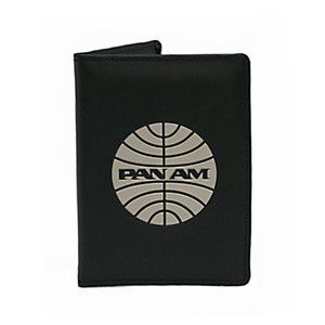 "Passport Cover Black, $16, now featured on Fab.   This is what my uncles room mate has ""Pam Am rememrobelia"""