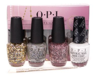 Opi Glitter Glamour Nail Polish Set With Images Glamour