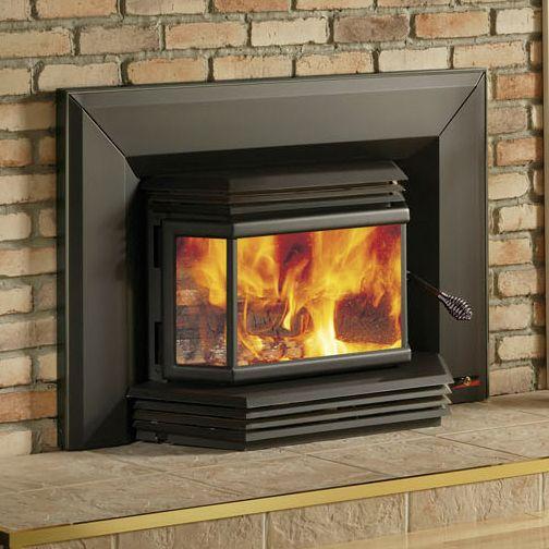Osburn 2200 High Efficiency Epa Bay Window Woodburning Insert With Blower Wood Burning Fireplace Inserts Wood Fireplace Fireplace Blower