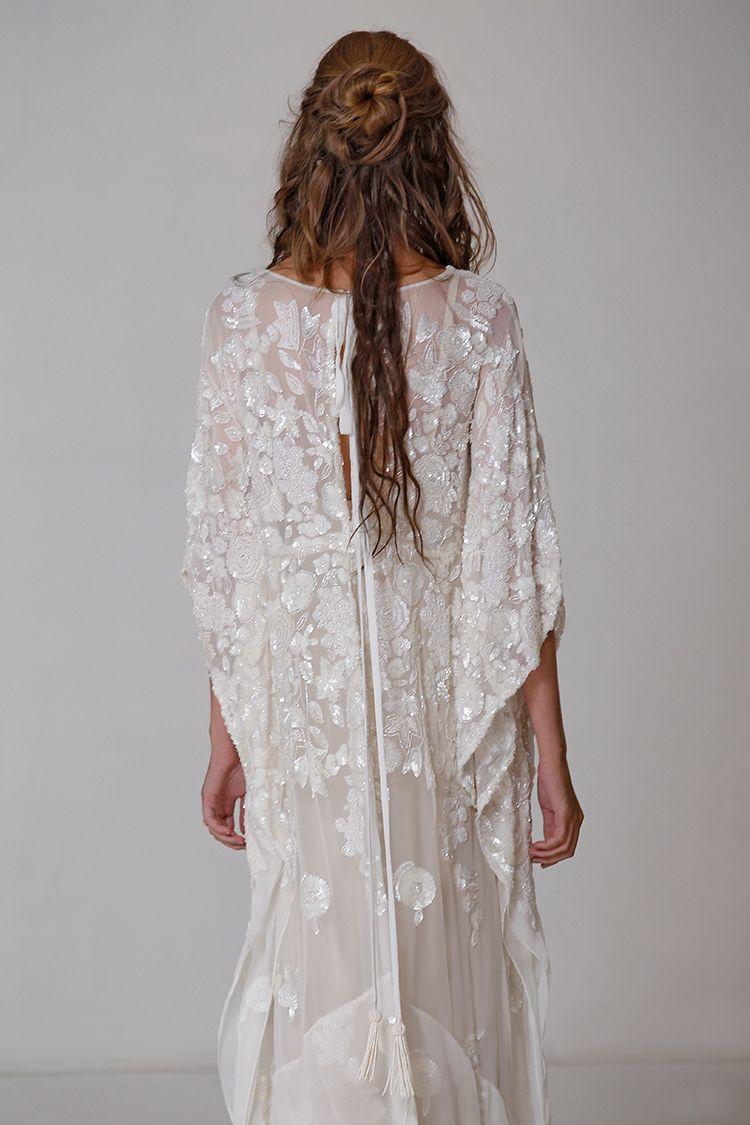 Bohemian wedding dress carol hannah 2015 bridal for Carol hannah wedding dresses