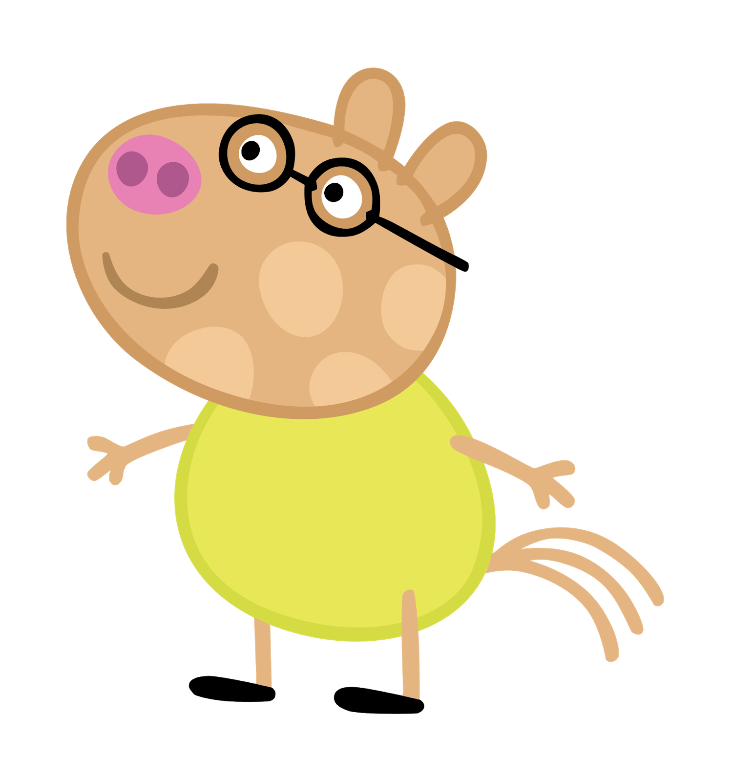 Cartoon Characters From The 00 S : Cartoon characters peppa pig png hq