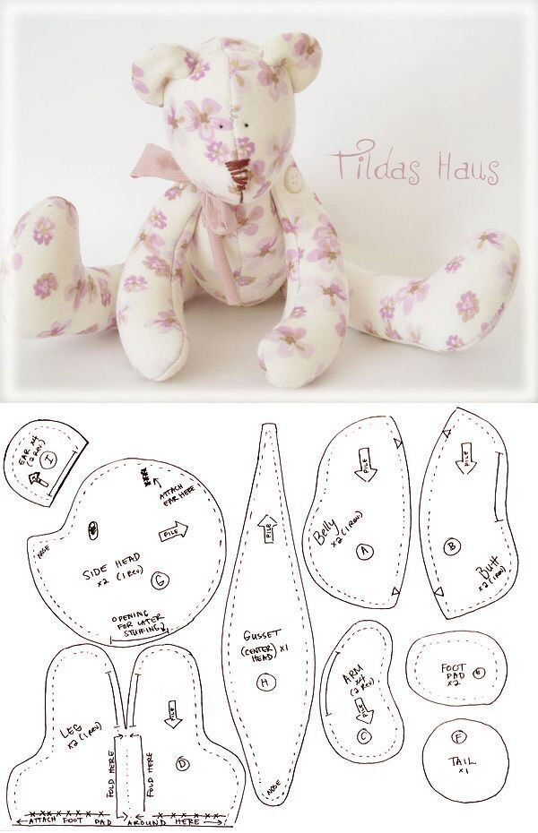 Pin by 0996120781 on игрушки | Pinterest | Bears, Teddy bear and Dolls