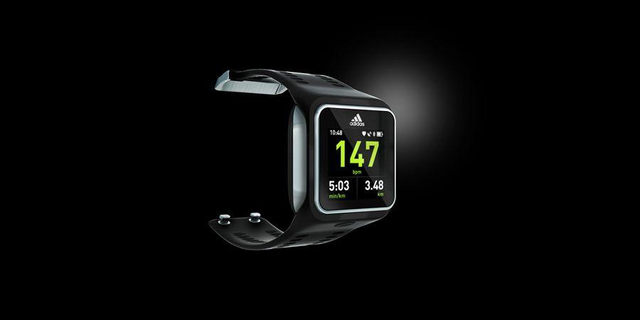 adidas miCoach SMART RUN - Running Smart Watch - image 1 - red dot 21: global design directory
