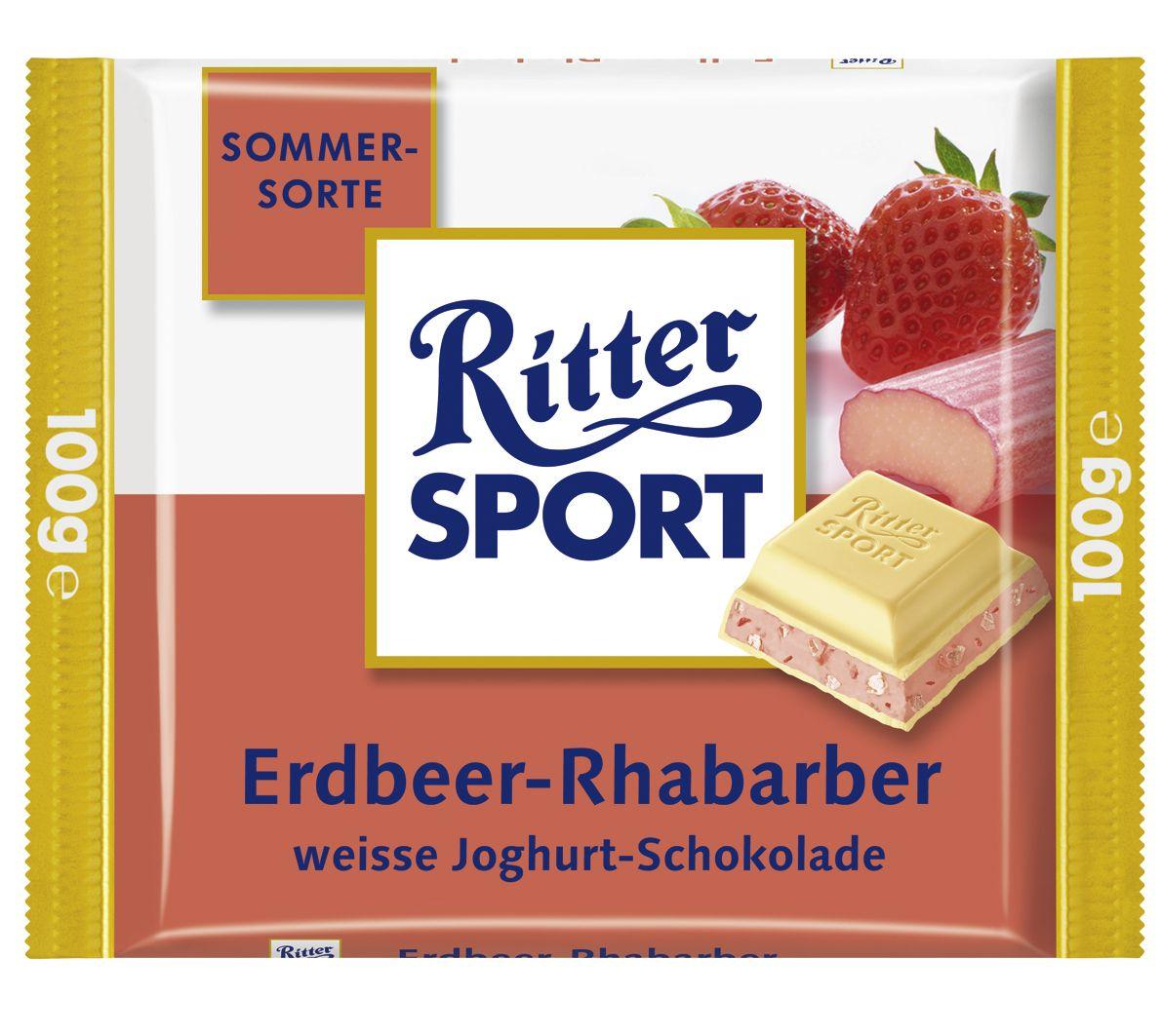 RITTER SPORT Erdbeer-Rhabarber (2006)