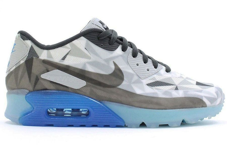 Nike Air Max 90 Loup Gris Glace Site Officiel Ebay
