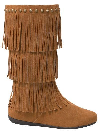 Tan Fringe Boots $39.95 http://www.giddyupglamouronline.com ...