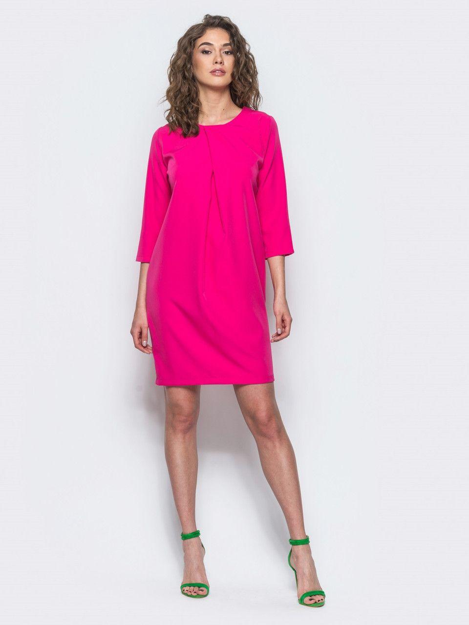 1af0410e4b6b Красивое женское офисное платье с рукавом ¾ р.44,46,48,50,52,54 ...