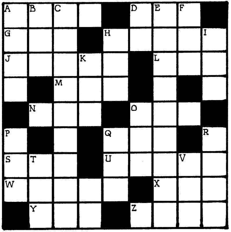 Blank Crossword Puzzle Crossword Puzzle Online Puzzles Crossword Puzzles Online