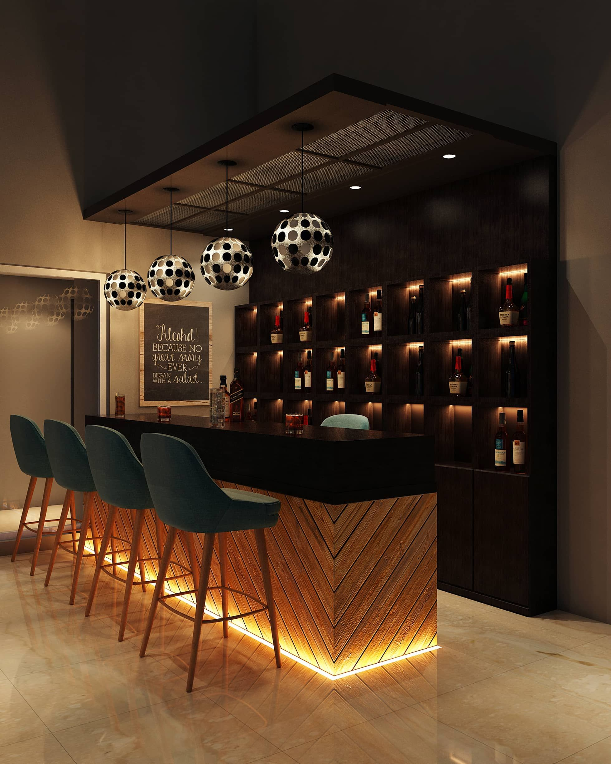 Marvel Sangria Moderne Kuchen Von Spaces Alive Modern Homify Kellerbar Design Bar Innenausstattung Bar Lounge