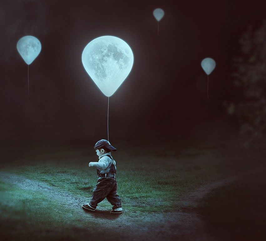 caa4b72c How to Create a Surreal Moon Balloons Scene With Adobe Photoshop Design  Psdtuts