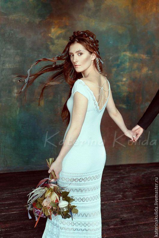 220cbad73f6 Одежда и аксессуары ручной работы. Ярмарка Мастеров - ручная работа. Купить  В наличии! 40-42.Свадебное платье. Handmade.